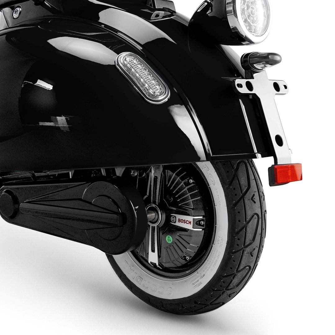 електрически скутер черен